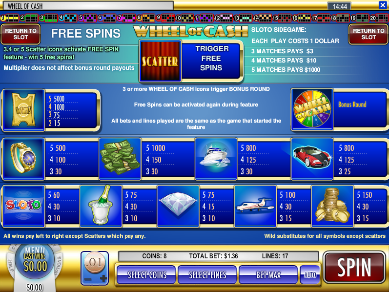 online casino click and buy free spin games